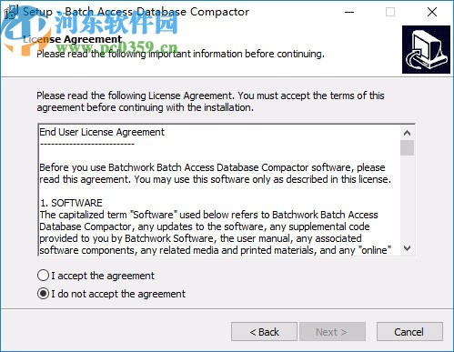 Batch Access Database Compactor