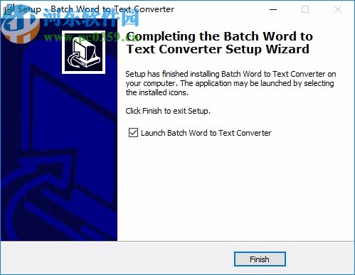 Batch DOC to TXT Converter下载