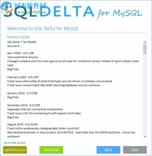 SQL Delta for MySQL下载